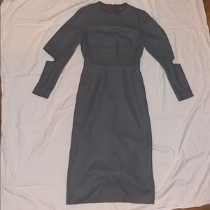 Gray US 4 COD long sleeve dress!